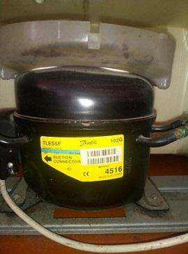 kompressor Danfoss TLES5F 102G 4516 holodilnika Indesit