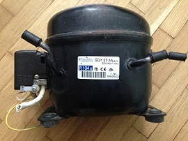 kompressor Electrolux GQY 55 AA dlya holodilnika