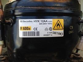 kompressor Electrolux HYK 12AA dlya holodilnika