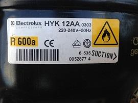 motor HYK12AA dlya holodilnika Liebherr KSDS 3032