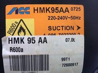 kompressor ACC HMK 95 AA dlya holodilnika Ariston RMB1185SBHA