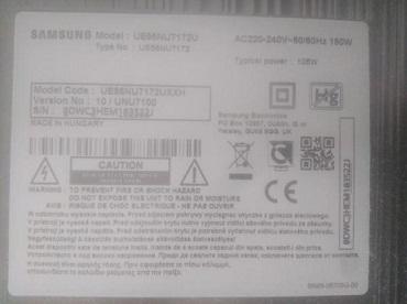 hochu prodaty televizor Samsung UE55NU7172U z bytoyu matrutseyu
