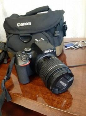 sdat fotoapparat Nikon d3500