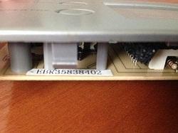 kod zakaza modulya (platy indikatsii) EBR35838402 dveri holodilnika LG GR-B409BTQA