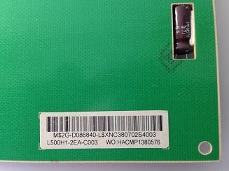 kod zakaza invertora LED paneli L500H1-2EA Grundig 50 VLE 921 BL V500HJ1-LE1 foto