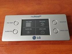 modul (plata indikatsii) EBR35838402 dveri holodilnika LG GR-B409BTQA foto