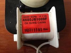 kod zakaza dvigatelya ventilyatora 4680JR1009F dlya holodilnika LG GR-B409BTQA