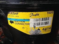 tsena motor-kompressora Danfoss TLES4F holodilnika Ariston