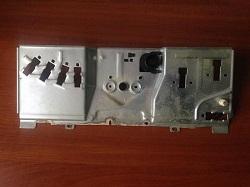 metallicheskaya vstavka paneli upravleniya stiralnoy mashiny Whirlpool AWT2250-1 foto