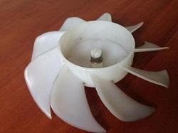 tsena krylchatki 5901JA1007A ventilyatora holodilnika LG GR-389SQF foto