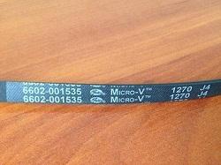 remen 6602-001535 Micro-V 1270 J4 stiralnoy mashiny Samsung WF0500NZW
