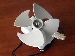 sdat ventilyator BG2012 ebmpapst 6118004-00 holodilnika Liebherr