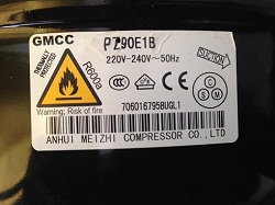 tsena kompressora GMCC PZ90E1B 4913131100 dlya holodilnika Beko