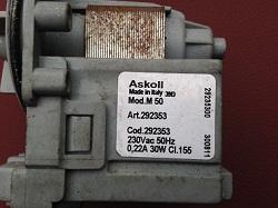 tsena nasosa Askoll M50 292353 30W stiralnoy mashiny