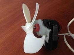 ventilyator A09 R 004 01 CLB 4.3W holodilnika Hotpoint-Ariston 4D SB-HA
