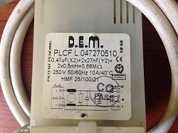 sdat v skupku setevoy filtr D.E.M. PLCF L 047270510 Ariston