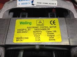 sdat v skupku motor (dvigatel) Welling HXGP1L.51 Indesit