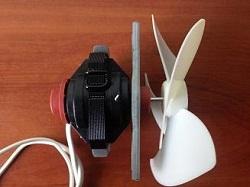 tsena ventilyatora A09 R 004 01 CLB 4.3W holodilnika Hotpoint-Ariston 4D SB-HA