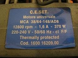 tsena motora MCA 38-64-148-AD8 160016209.00 Indesit