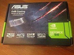 videokarta NVIDIA GeForce GT 610 2GB DDR3